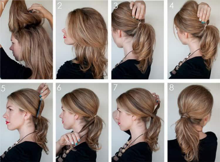 Простые повседневные прически на длинные волосы