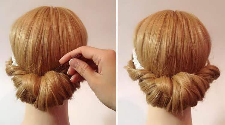 Повседневные прически на длинные волосы в школу