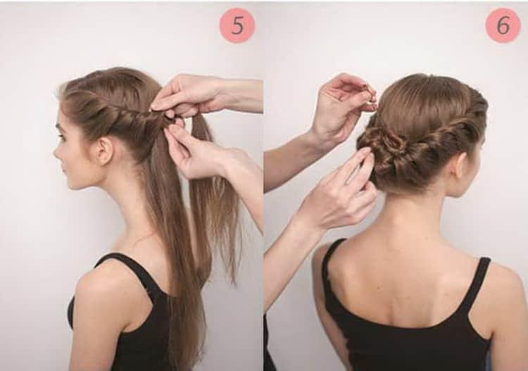 Как делают легкие прически на длинные волосы своими руками