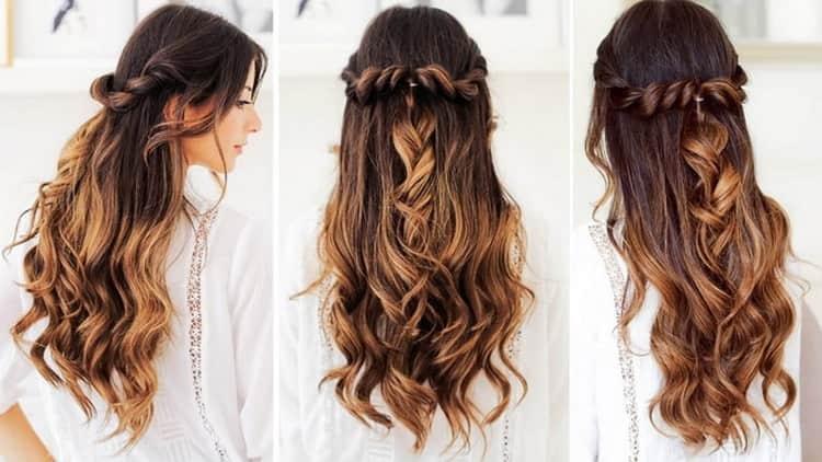 Как делают деловые прически на длинные волосы своими руками
