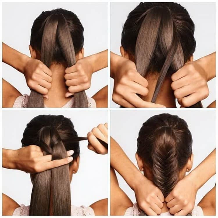 Как сделать ежедневные прически на длинные волосы своими руками