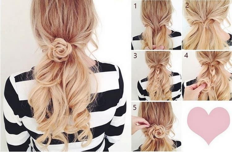 Как делать прически на длинные волосы своими руками