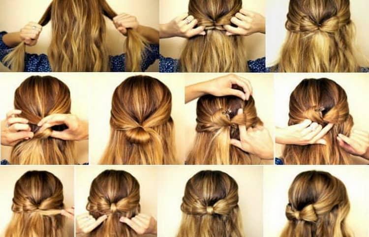 Как сделать прически на длинные волосы своими руками с пошаговыми фото