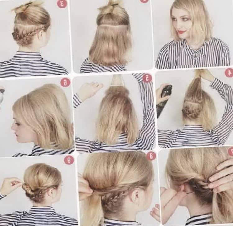 Как делать прически на каждый день на короткие волосы, фото