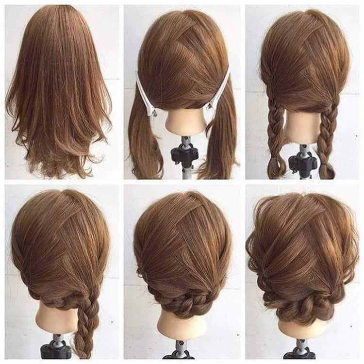 Как делать прически на каждый день на короткие волосы, видео