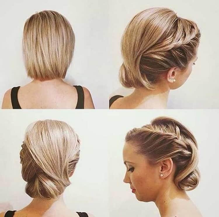 Как делать простые прически на каждый день на короткие волосы