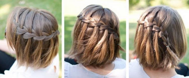 Как делать быстрые прически на каждый день на короткие волосы