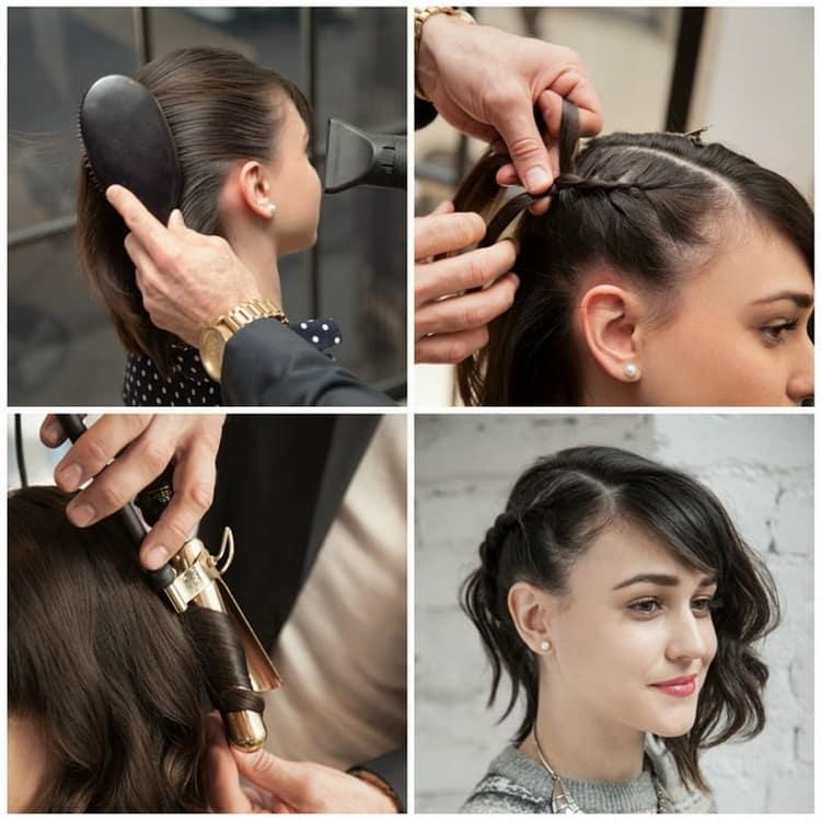 Как сделать прически на короткие волосы своими руками – пошаговое руководство с фото
