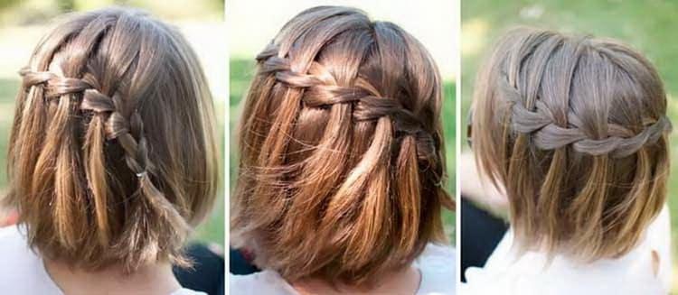 Как делать прически на короткие волосы для подростков девочек