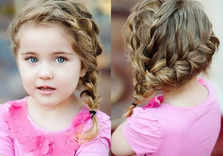 Как сделать прически на короткие волосы девочке в 3 года