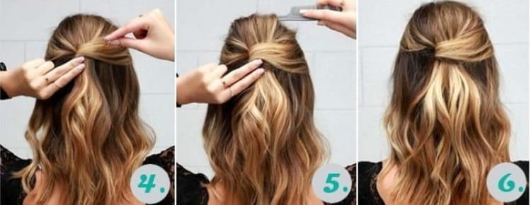 Как сделать повседневные прически на средние волосы своими руками