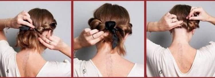 Прически на средние волосы, повседневные и простые