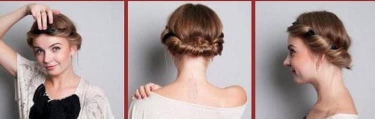 Как делать повседневные и простые прически на средние волосы