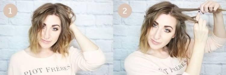 Как делать повседневные прически на средние волосы в домашних условиях