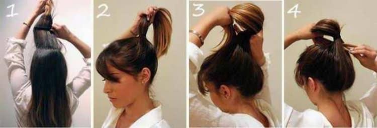 Как делаются быстрые и красивые прически на средние волосы
