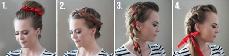 Как делаются деловые прически на средние волосы своими руками