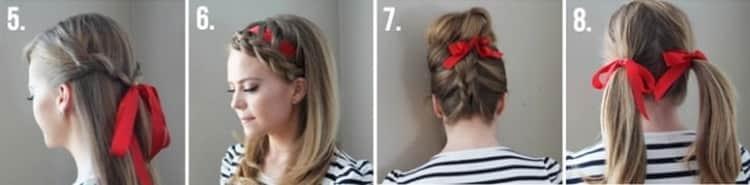 Как делаются прически на средние тонкие волосы своими руками