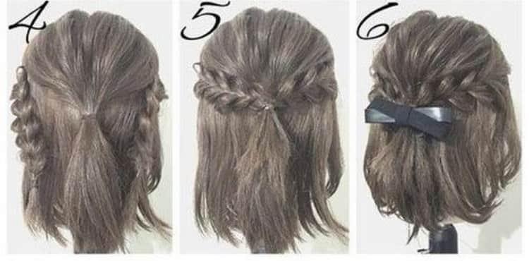 Как делаются прически дома на средние волосы своими руками