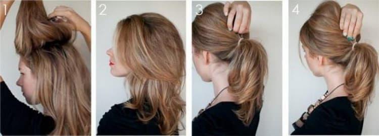 Как делаются несложные прически на средние волосы своими руками