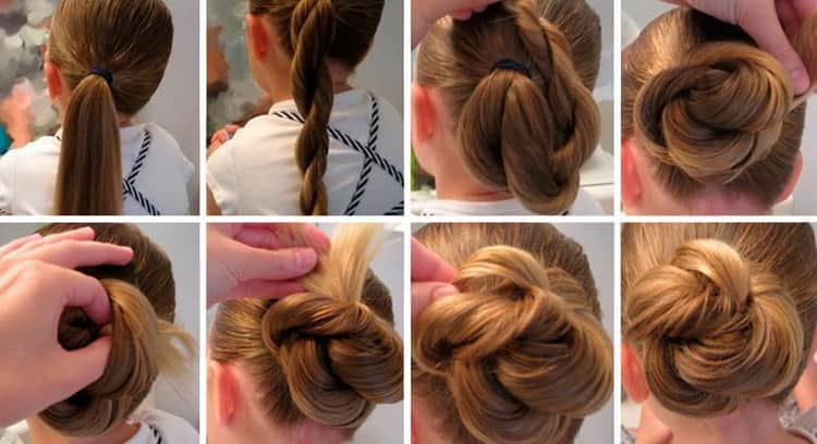 Как сделать прически на средние волосы в школу, фото