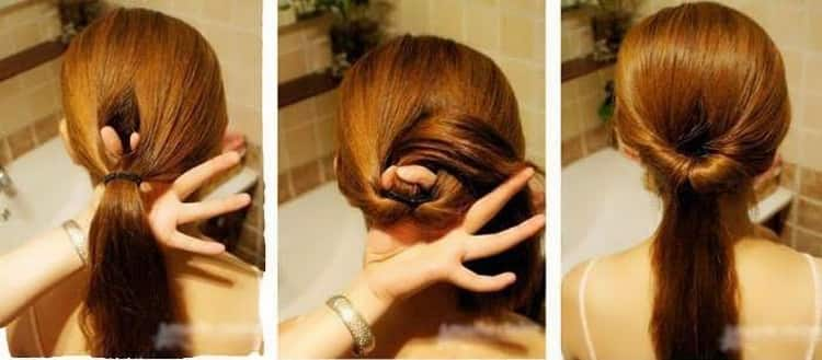 Лучшие прически на средние волосы в школу с пошаговыми фото