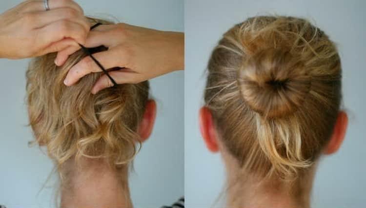 Как делается прически на тонкие волосы средней длины
