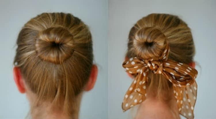 Прически с локонами на средние волосы