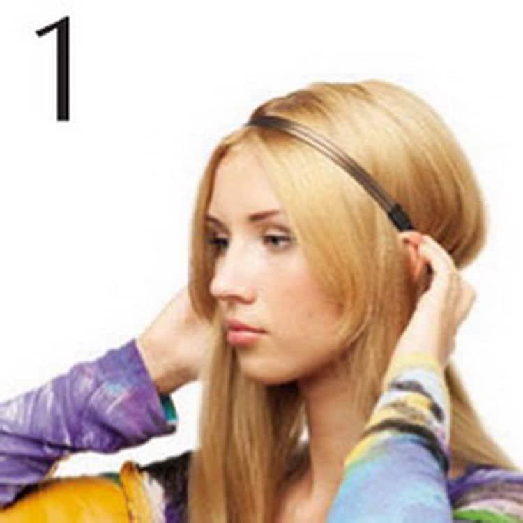 Прически на тонкие волосы средней длины фото