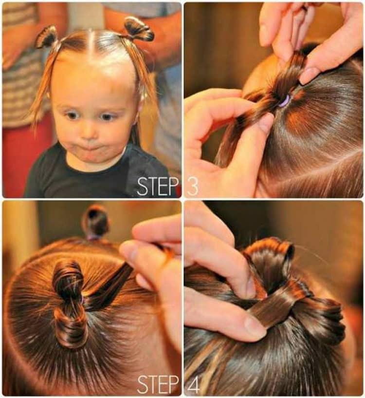 Как делают стрижки на средние волосы для девочек