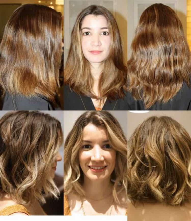 Как сделать шатуш на короткие волосы