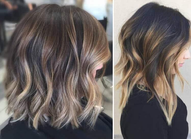 Окраска волос шатуш: фото на короткие волосы