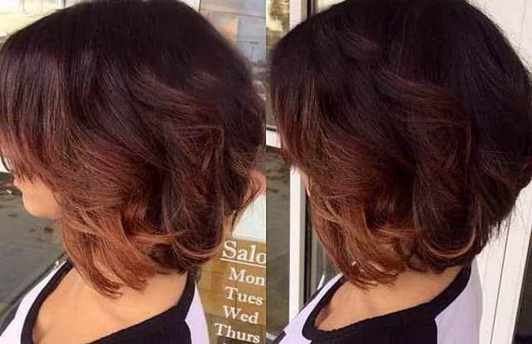 Как сделать шатуш на темные короткие волосы: фото