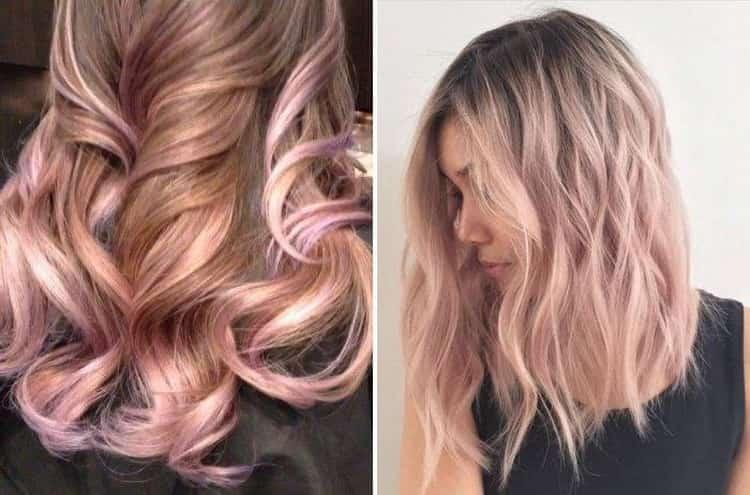 Шатуш на светлые волосы: техника окрашивания