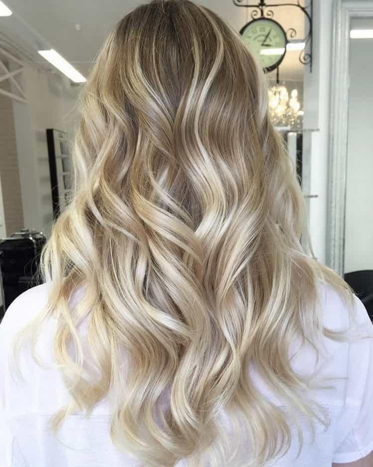 Окрашивание шатуш на светлые волосы: фото