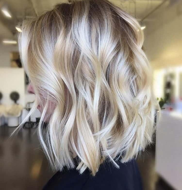 Как сделать шатуш на светлые волосы средней длины: фото