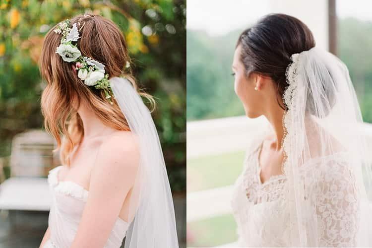 Как делается свадебная прическа с челкой и фатой