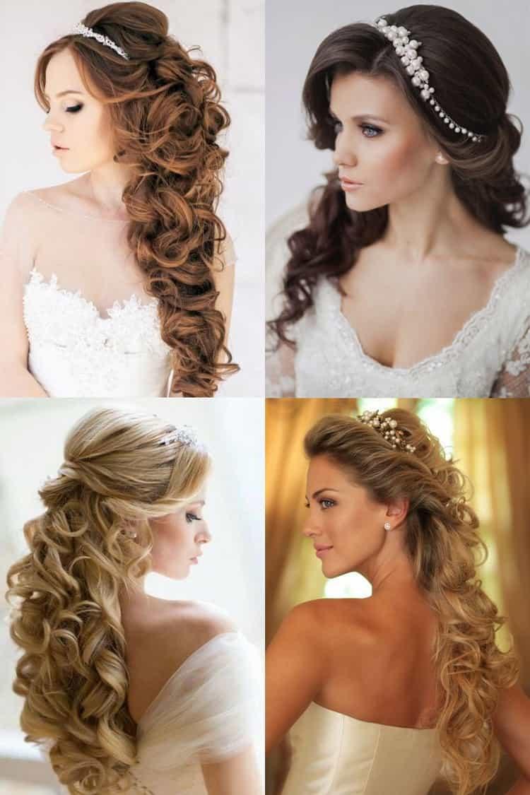Как делать свадебные прически на тонкие волосы средней длины
