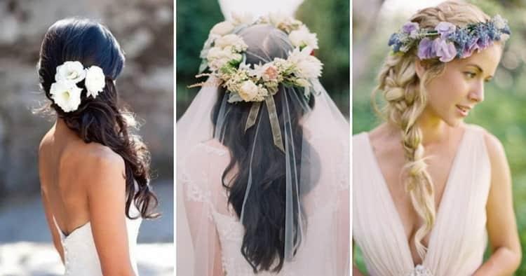 Как делать свадебные прически с длинной фатой