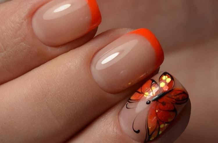 Модный дизайн ногтей с рисунком, фото