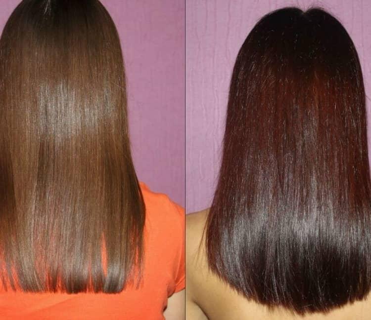 отзыв о краске для волос Капус