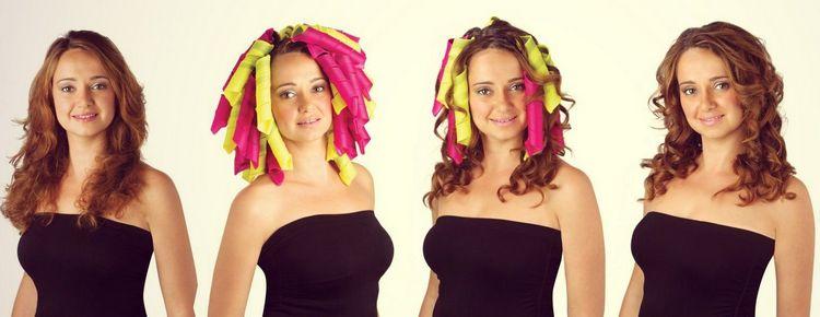 Чудо бигуди magic leverage особенно понравятся тем, кто боится повредить волосы при термообработке.