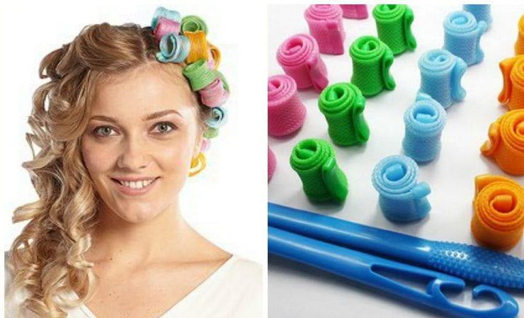 Эти бигуди удобно использовать для волос самой разной длины.