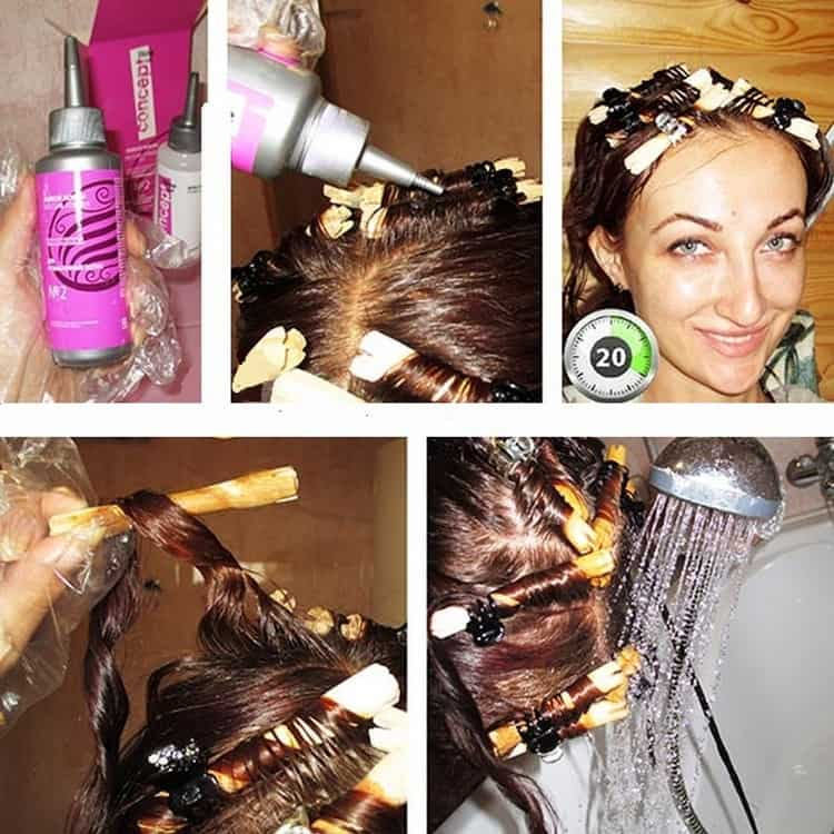 Можно попробовать сделать биохимическую завивку волос в домашних условиях.