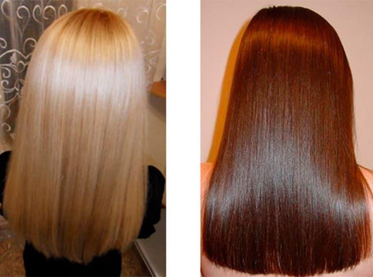 Почитайте отзывы о последствиях биоламинирования волос.