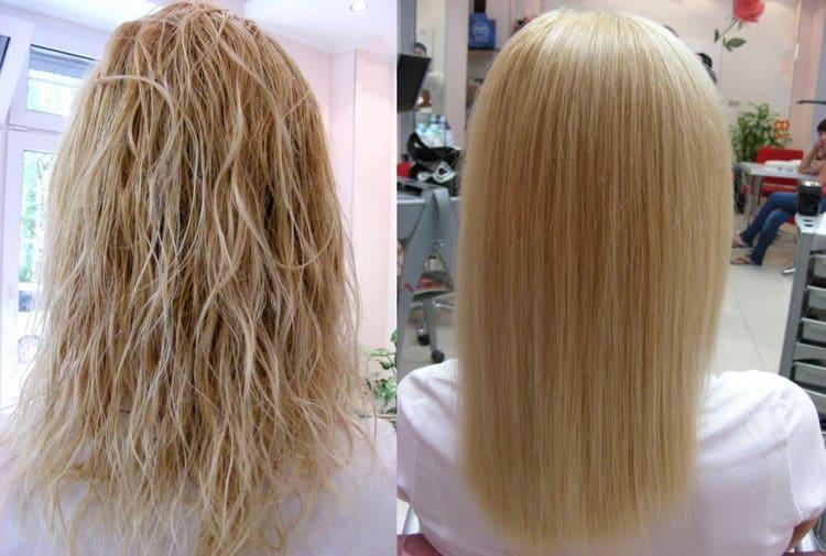 А вот отзывы о биоламинировании волос constant delight.