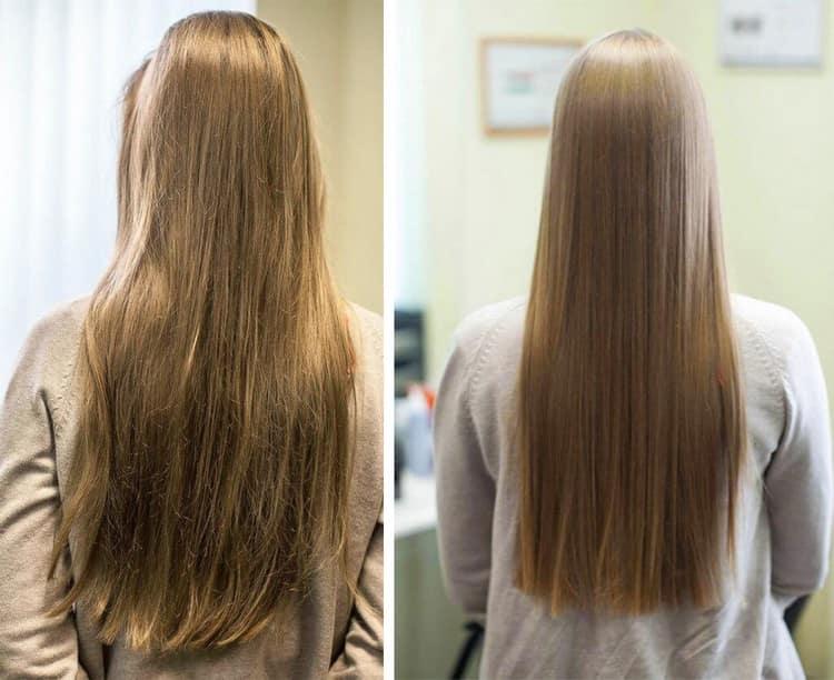 Есть немало положительных отзывов о биоламинировании волос moltobene.