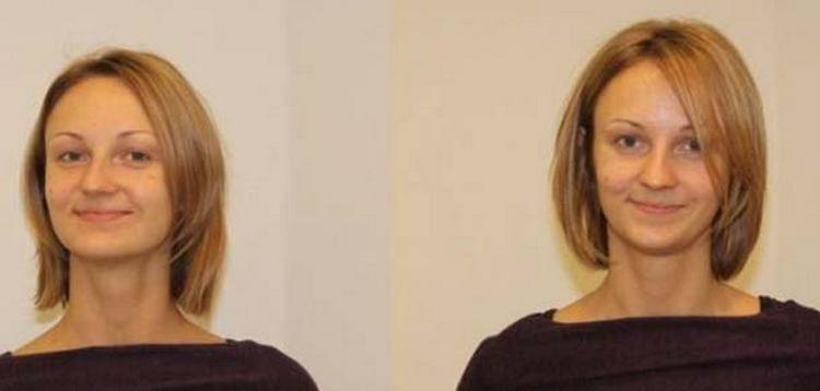 По фото видно, что буст ап на короткие волосы не всегда дает желаемый результат.