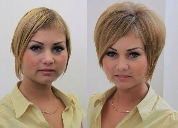 Посмотрите фото волос до и после буст апа.