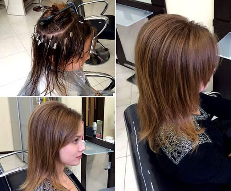 Вот так создается прикорневой объем волос буст ап.