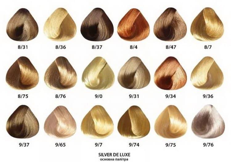 краска эстель сильвер для седых волос палитра №2